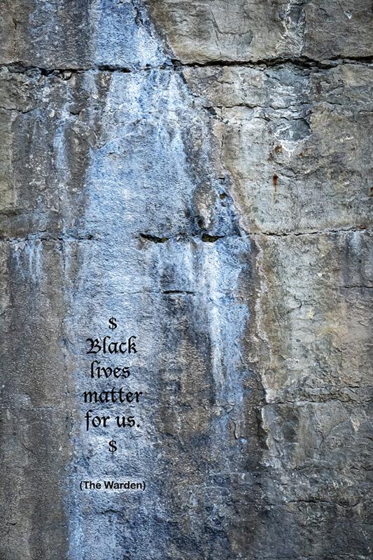 Blacklives  matter for us.